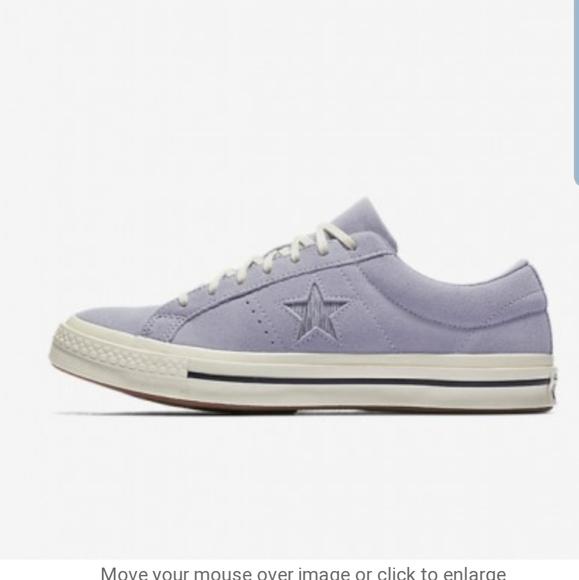 Converse Shoes | Purple Suede Converse